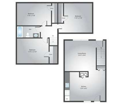 3 Beds - Dutch Village Townhomes at 2349 Perring Manor Road in Parkville MD is a Apartment