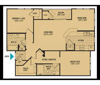 2 Beds - The Islands of Fox Chase at 208 Somerset Bay Dr in Glen Burnie MD is a Apartment