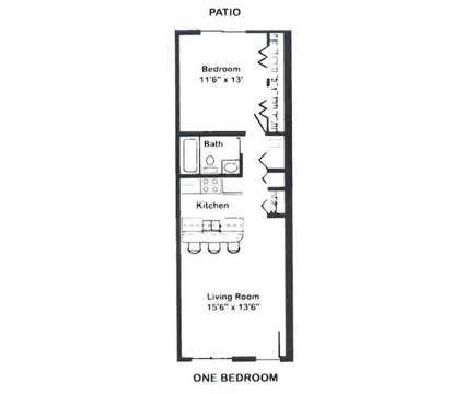 1 Bed - Capitol Village at 315 E Edgewood Boulevard in Lansing MI is a Apartment