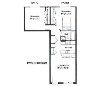 2 Beds - Capitol Village at 315 E Edgewood Boulevard in Lansing MI is a Apartment