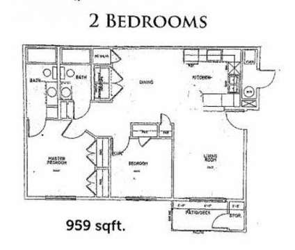 2 Beds - Sundance Apartments at 215 Walterscheid Bld in Cheyenne WY is a Apartment