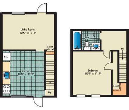 1 Bed - Highland Village Townhomes at 3953 Mcdowell Lane in Halethorpe MD is a Apartment
