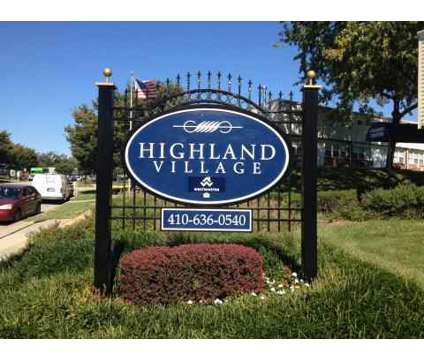 3 Beds - Highland Village Townhomes at 3953 Mcdowell Lane in Halethorpe MD is a Apartment