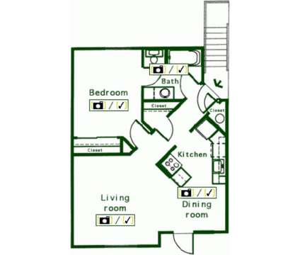 1 Bed - Cedar Springs Estates I at 1015 E Cozza Dr in Spokane WA is a Apartment