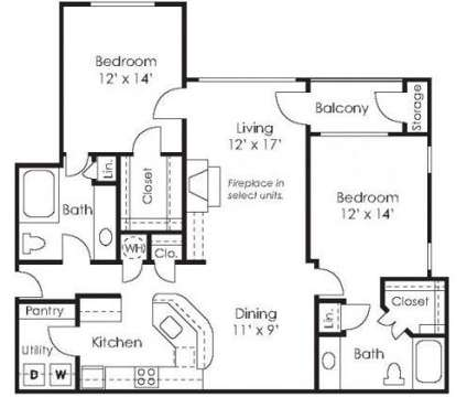 2 Beds - Wesley St. James at 7785 Roswell Rd in Sandy Springs GA is a Apartment