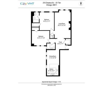 2 Beds - 215 E Chestnut Apartments at 215 E Chestnut St in Chicago IL is a Apartment