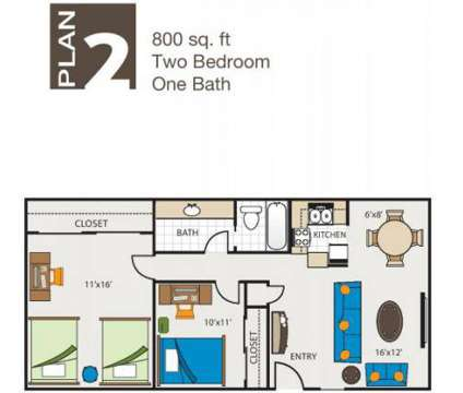 2 Beds - Green Leaf College Square at 801 J St in Davis CA is a Apartment