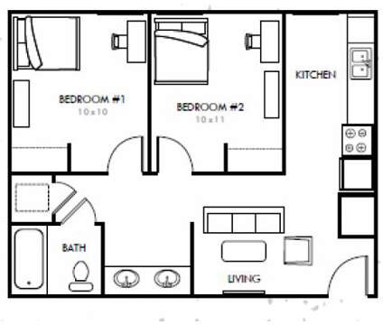 2 Beds - The 50/50 at 1801 R St in Lincoln NE is a Apartment