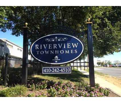 1 Bed - Riverview Townhomes at 600 Fifth Ave in Halethorpe MD is a Apartment