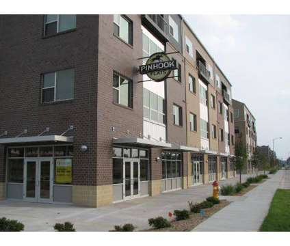 Studio - Pinhook Flats at Aksarben Village at 6440 Cedar Plaza in Omaha NE is a Apartment