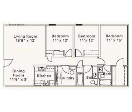 3 Beds - Horizon at Hillcrest at 1001 Claudia Ln in Findlay OH is a Apartment