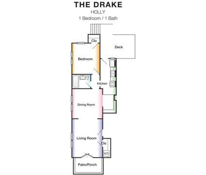 1 Bed - The Drake at 4439 Roanoke in Kansas City MO is a Apartment