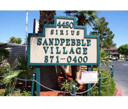 1 Bed - Sandpebble Village at 4480 Sirius Ave in Las Vegas NV is a Apartment