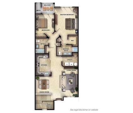 2 Beds - Woodhaven Commons at Woodhaven Boulevard in Old Bridge NJ is a Apartment