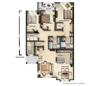 3 Beds - Woodhaven Commons at Woodhaven Boulevard in Old Bridge NJ is a Apartment