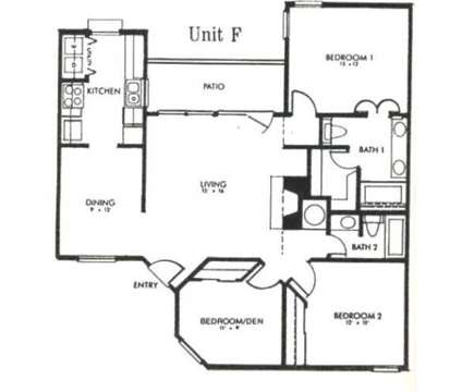 2 Beds - Waterford On The Green at 6228 Glenview Drive in North Richland Hills TX is a Apartment