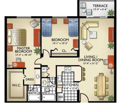 2 Beds - Royalton on the Green at 17350 Nw 68th Avenue in Miami FL is a Apartment