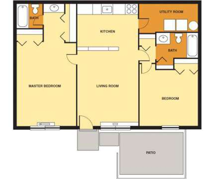 2 Beds - Pine Ridge Apartments at 100 Pine Ridge Dr in Oakdale PA is a Apartment