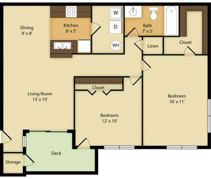 2 Beds - Crestmont at Town Center at 500 Williams Dr in Marietta GA is a Apartment