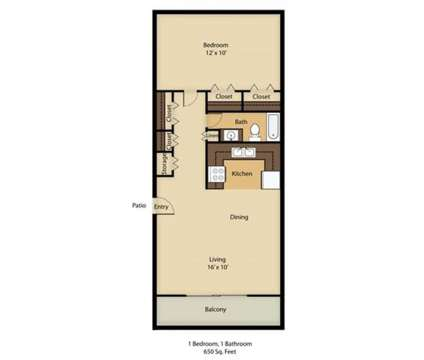 1 Bed - Silversmith Creek at 7211 Crane Ave in Jacksonville FL is a Apartment