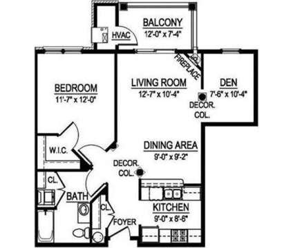 1 Bed - Georgetown Square at 16505 W Wisconsin Avenue in Brookfield WI is a Apartment