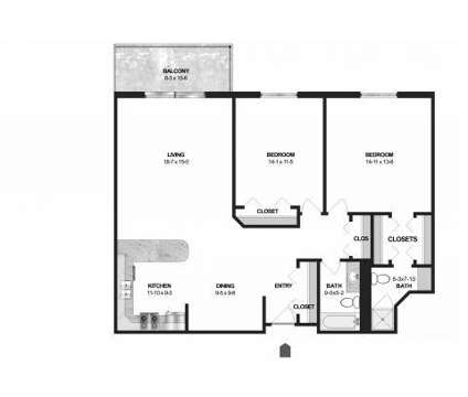 2 Beds - Laurel at West End at 5610 Laurel Avenue in Golden Valley MN is a Apartment