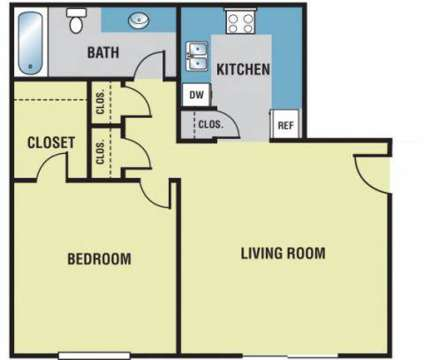 1 Bed - Forest Pointe Apartments at 2810 32nd St Se in Grand Rapids MI is a Apartment