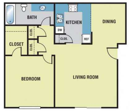 1 Bed - Castle Bluff Apartments at 2791 Castle Bluff Ct Se in Grand Rapids MI is a Apartment