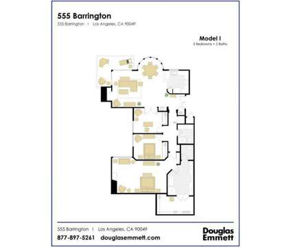 3 Beds - 555 Barrington at 555 South Barrington Avenue in Los Angeles CA is a Apartment