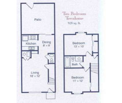 2 Beds - The Crossings at 5810 at 5810 Sebring Dr in Indianapolis IN is a Apartment