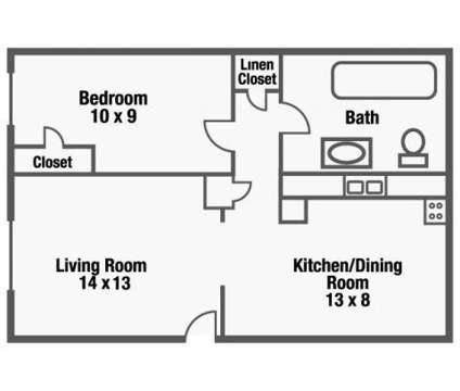 1 Bed - Suntree Apartments at 3040 Suntree Plaza in Kansas City KS is a Apartment