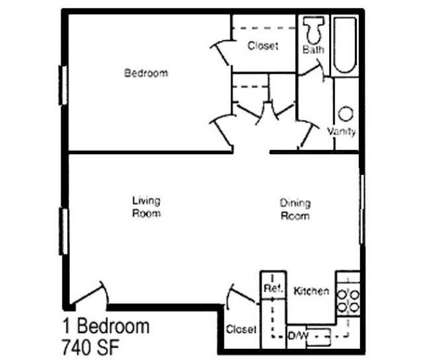1 Bed - Autumn Chase Apartments at 110 Harris St in Goodlettsville TN is a Apartment