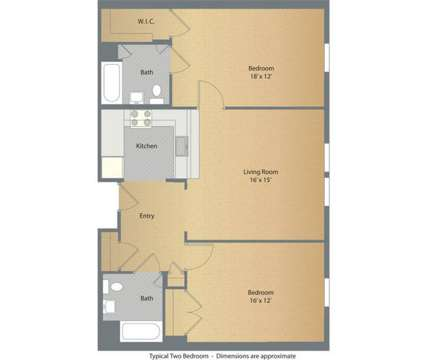 2 Beds - Brookview Commons at 30 Crosby St in Danbury CT is a Apartment
