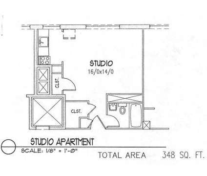 Studio - Eugene Manor at 1040-1050 Ferry St in Eugene OR is a Apartment