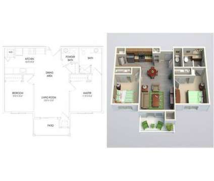 2 Beds - Tapestry at Quail Springs at 14201 N Kentucky Avenue in Oklahoma City OK is a Apartment