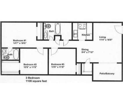3 Beds - Palmer House at 3216-a Yanceyville St in Greensboro NC is a Apartment