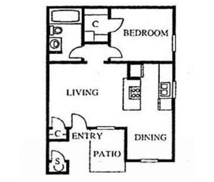 1 Bed - San Marina at 7002 West Indian School Road in Phoenix AZ is a Apartment