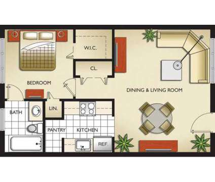 1 Bed - Sunshine Lakes at 10920 Nw 14 Ave in Miami FL is a Apartment