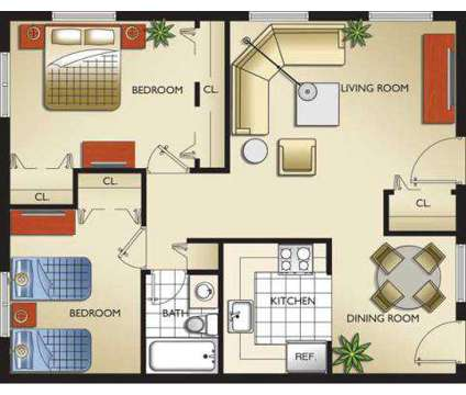 2 Beds - Sunshine Lakes at 10920 Nw 14 Ave in Miami FL is a Apartment