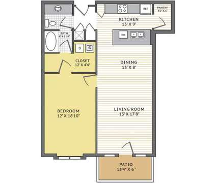 1 Bed - The Denton at 6001 Nw 63rd St in Kansas City MO is a Apartment