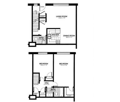 2 Beds - Bradley Place Townhomes at 6401a W Bradley Road in Milwaukee WI is a Apartment