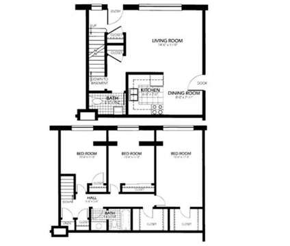 3 Beds - Bradley Place Townhomes at 6401a W Bradley Road in Milwaukee WI is a Apartment