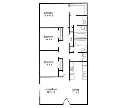 3 Beds - Spring Hill Apartments at 100 Swift Blvd in Goose Creek SC is a Apartment