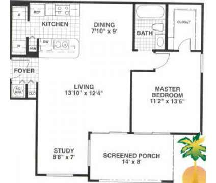 1 Bed - Oasis Naples Apartments at 2277 Arbour Walk Circle in Naples FL is a Apartment