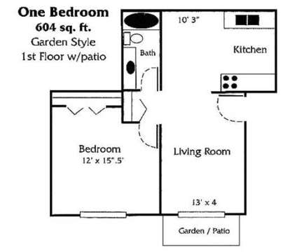 1 Bed - Greenfield Apartments at 1640 S Greenfield Cir Ne in Grand Rapids MI is a Apartment