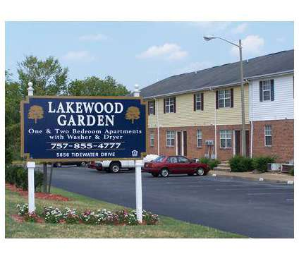 1 Bed - Lakewood Garden Apartments at 5656 Tidewater Drive in Norfolk VA is a Apartment