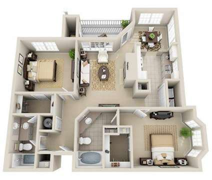 2 Beds - Legacy Arboretum at 1729 Echo Forest Drive in Charlotte NC is a Apartment