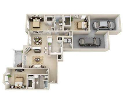 3 Beds - Legacy Arboretum at 1729 Echo Forest Drive in Charlotte NC is a Apartment