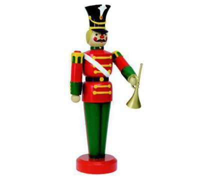 Life-Size Fiberglass Toy Soldier Display (Christmas Decor) Indoor/Outdoor is a Everything Else for Sale in Lemont IL