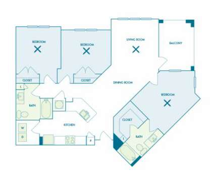 3 Beds - Nona Park Village at 9100 Dowden Road in Orlando FL is a Apartment